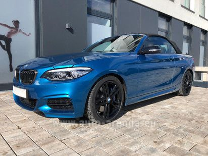 Buy BMW M240i Convertible 2019 in France, picture 1