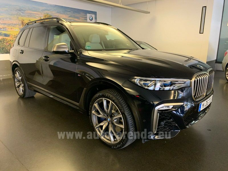 Buy BMW X7 M50d in France