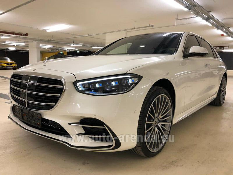 Buy Mercedes-Benz S 500 Long 4Matic AMG-LINE White in France