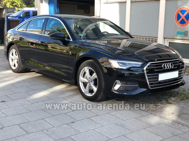 Hire and delivery to Val Thorens the car Audi A6 45 TDI Quattro