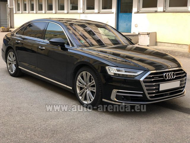 Transfer from Lyon-Saint Exupery Airport to Courchevel by Audi A8 Long 50 TDI Quattro car