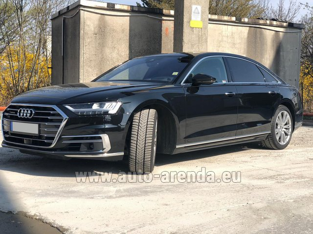 Прокат Ауди A8 Long 50 TDI Quattro во Франции