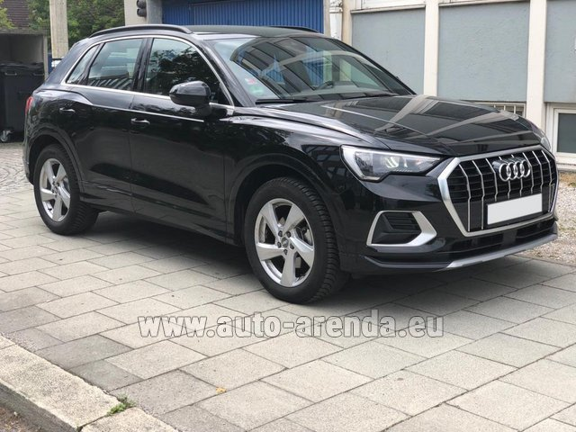 Rental Audi Q3 35 TFSI Quattro in French Riviera