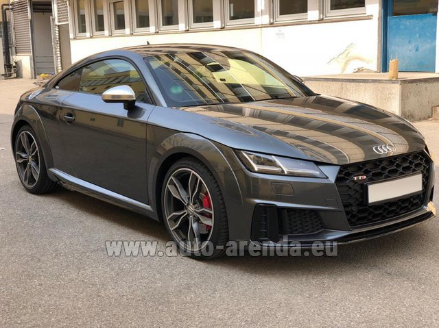 Rental Audi TTS Coupe in France