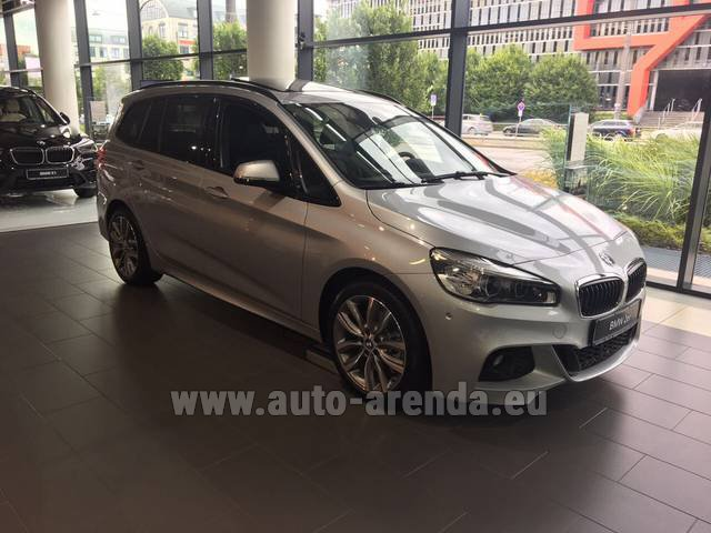 Rental BMW 2 Gran Tourer Equipment M Sport in Grenoble