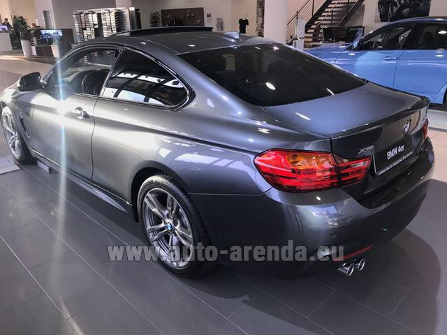 Rental BMW 420d xDrive Coupe M Sportpaket in Andorra