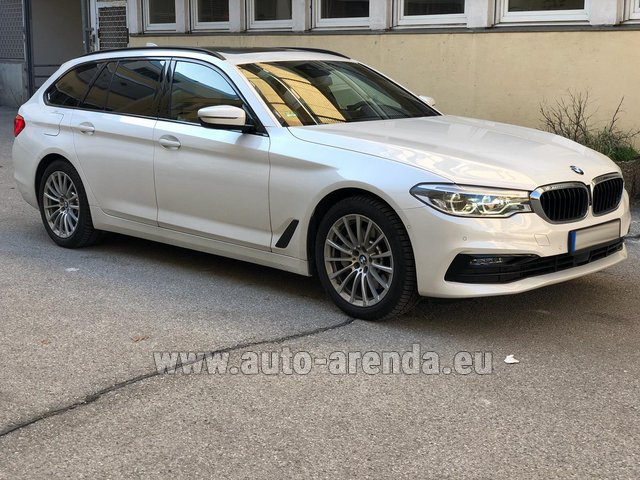 Hire and delivery to Val Thorens the car BMW 5 Touring Equipment M Sportpaket