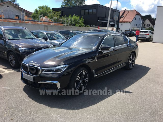 Rental BMW 750i XDrive M equipment in Nice