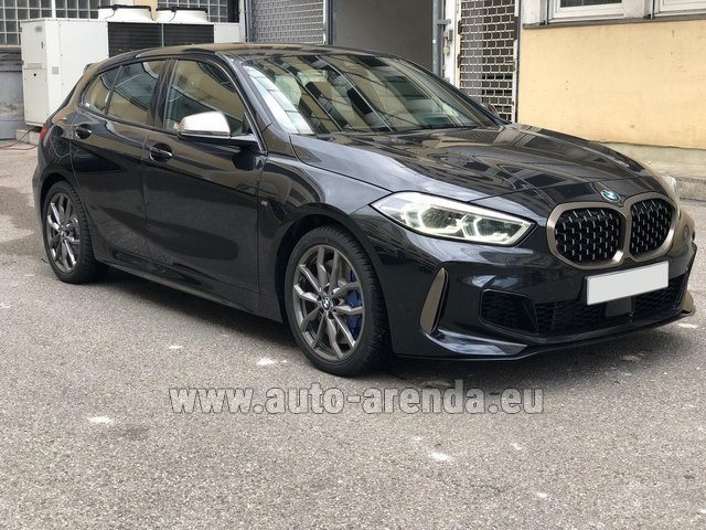 Hire and delivery to Courchevel the car BMW M135i XDrive