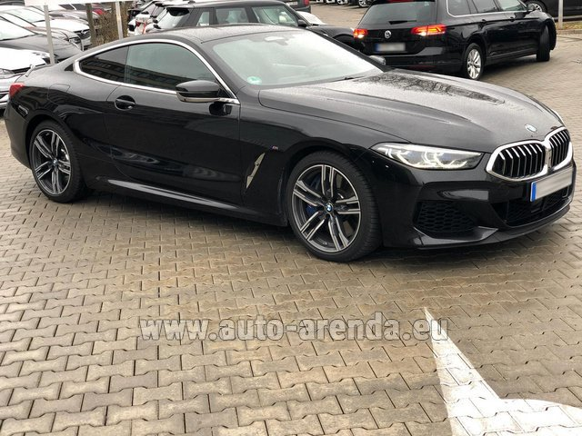 Hire and delivery to Valloire the car BMW M850i xDrive Coupe