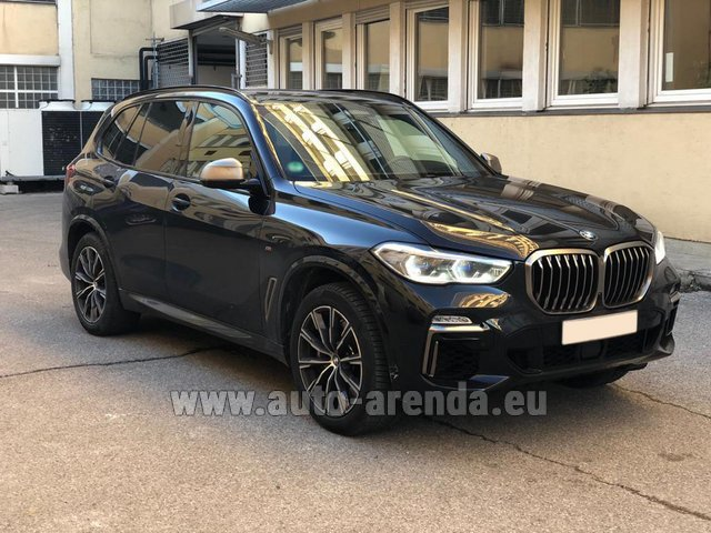 Hire and delivery to Courchevel the car BMW X5 M50d XDRIVE