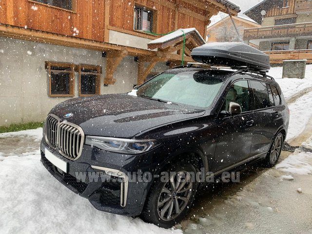 Transfer from Lyon-Saint Exupery Airport to Courchevel by BMW X7 M50d (1+6 pax) car