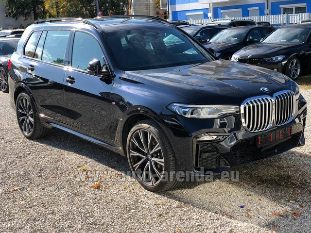 Hire and delivery to Valloire the car BMW X7 xDrive40i