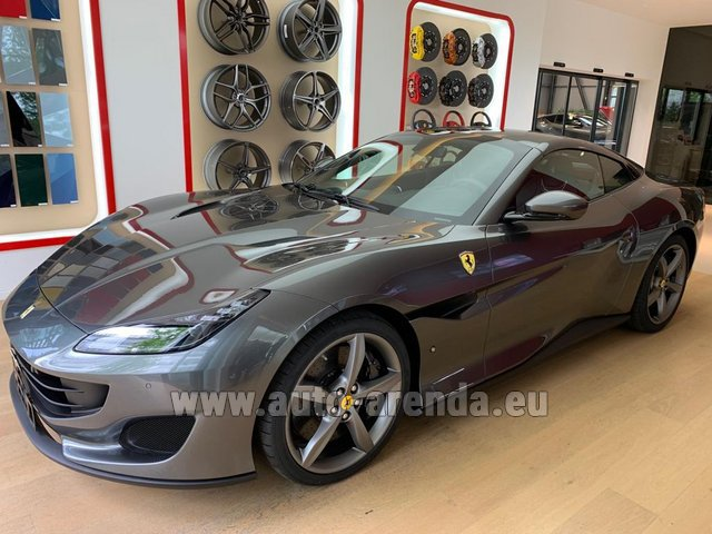 Rental Ferrari Portofino in France