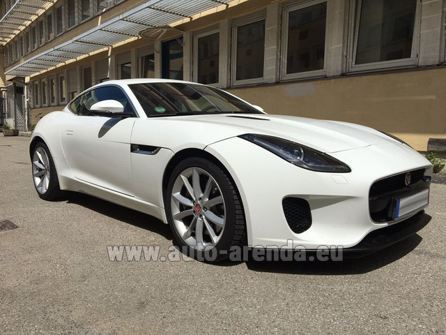 Rental Jaguar F-Type 3.0 Coupe in Paris