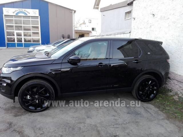 Rental Land Rover Discovery Sport HSE Luxury (5-7 Seats) in Antibes
