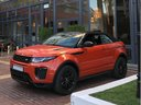 Rent-a-car Land Rover Range Rover Evoque HSE Cabrio SD4 with its delivery to Courchevel 1850, photo 2
