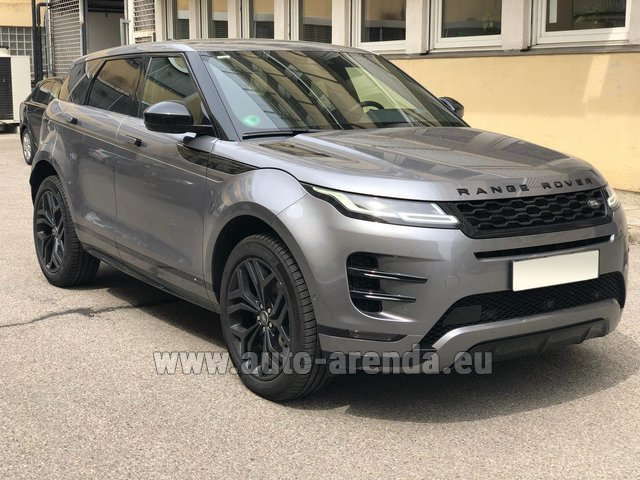 Hire and delivery to Courchevel the car Land Rover Range Rover Evoque D180SE