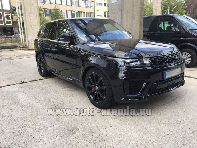 Rental Land Rover Range Rover SPORT in Grenoble