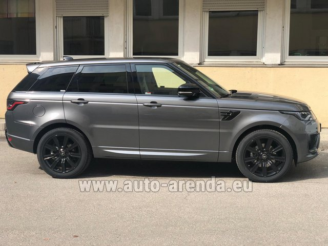 Hire and delivery to Les Deux Alpes the car Land Rover Range Rover Sport SDV6 Panorama 22