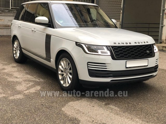 Прокат Ленд Ровер Range Rover Vogue P525 в Антибах