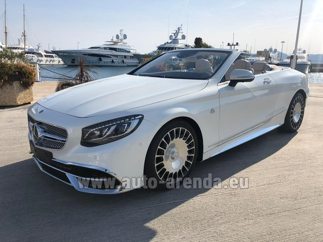 Rental Maybach S 650 Cabriolet, 1 of 300 Limited Edition in Lyon