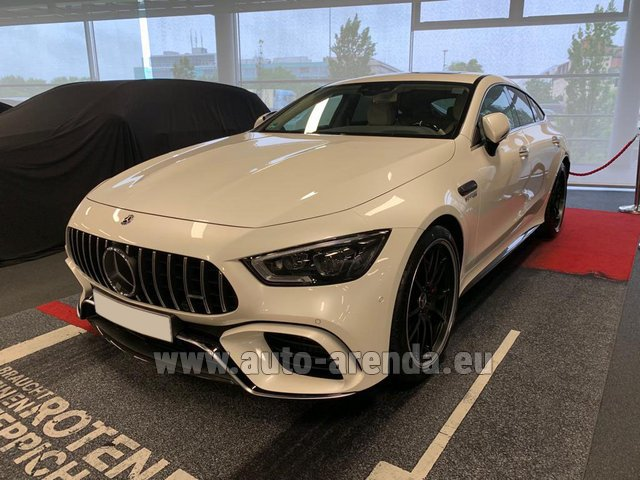 Hire and delivery to Val Thorens the car Mercedes-Benz AMG GT 63 S 4-Door Coupe 4Matic+