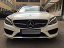 Rent-a-car Mercedes-Benz C-Class C43 AMG Biturbo 4MATIC White in Saint-Tropez, photo 2