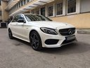 Rent-a-car Mercedes-Benz C-Class C43 AMG Biturbo 4MATIC White in Saint-Tropez, photo 5