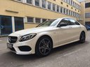 Rent-a-car Mercedes-Benz C-Class C43 AMG Biturbo 4MATIC White in Saint-Tropez, photo 1
