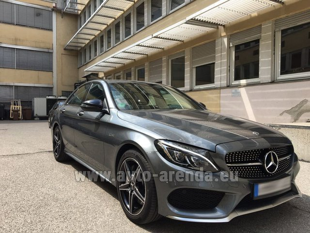 Rental Mercedes-Benz C-Class C43 AMG BITURBO 4Matic in Antibes