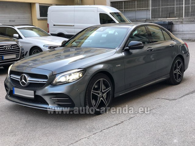 Rental Mercedes-Benz C-Class C43 BITURBO 4Matic AMG in Paris