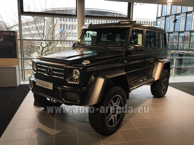 Rental Mercedes-Benz G-Class G 500 4x4² V8 in Grenoble