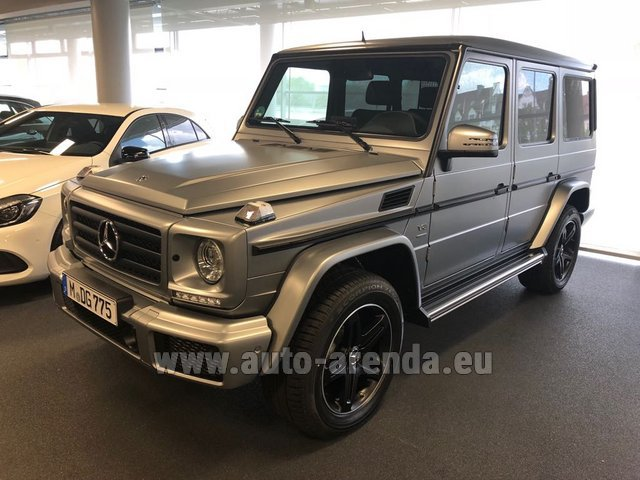 Rental Mercedes-Benz G-Class G 500 Limited Edition in Andorra