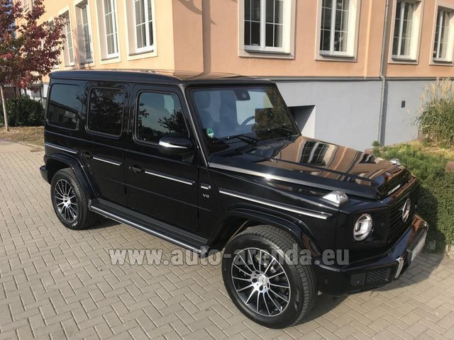 Hire and delivery to Chamonix the car Mercedes-Benz G-Class G500 2018 Exclusive Edition