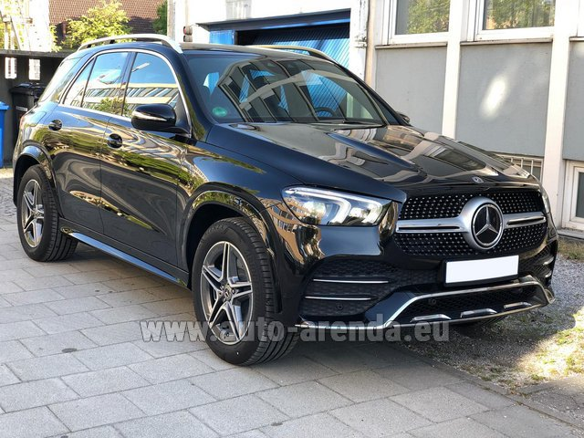 Прокат Мерседес-Бенц GLE 400 4Matic AMG комплектация в Париже