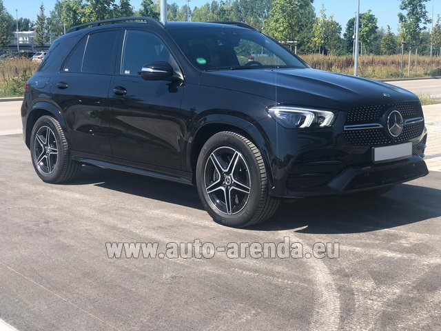 Прокат Мерседес-Бенц GLE 450 4MATIC AMG комплектация на Лазурном берегу