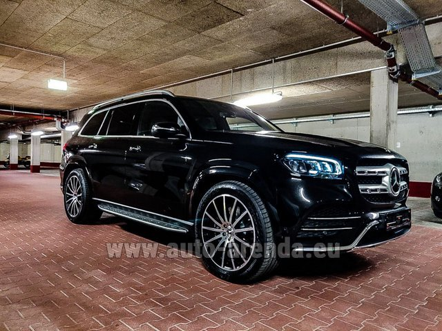 Прокат Мерседес-Бенц GLS 400d 4MATIC BlueTEC комплектация AMG на Лазурном берегу