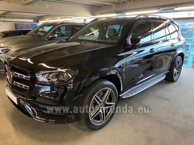 Прокат Мерседес-Бенц GLS 400d BlueTEC 4MATIC комплектация AMG на Лазурном берегу