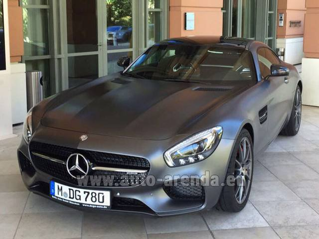 Rental Mercedes-Benz GT-S AMG in Paris