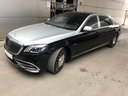 Rent-a-car Maybach S 560 4MATIC AMG equipment Metallic and Black in Grenoble, photo 3