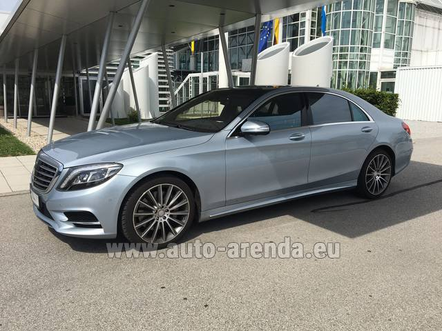 Hire and delivery to Chamonix the car Mercedes-Benz S 350 L BlueTEC 4MATIC AMG