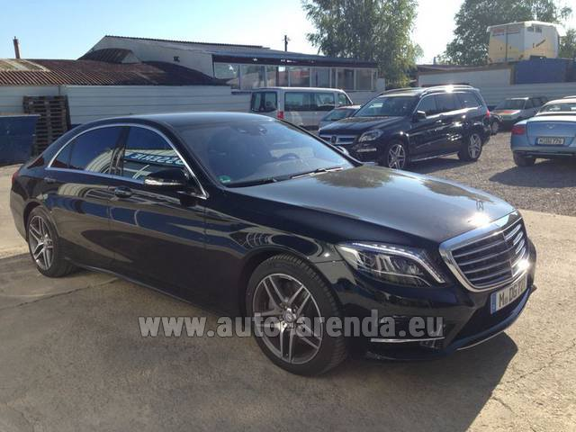 Hire and delivery to Chamonix the car Mercedes-Benz S 350 L BlueTEC AMG