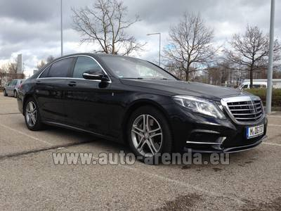Mercedes-Benz S350 Long 4MATIC комплектация AMG