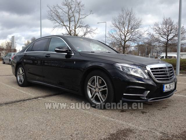 Transfer from Lyon-Saint Exupery Airport to Courchevel by Mercedes-Benz S350 Long 4MATIC AMG equipment car