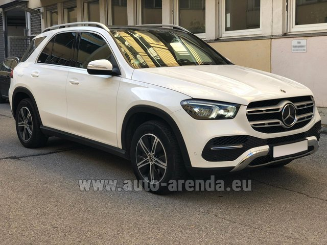 Прокат Мерседес-Бенц GLE 350 4Matic AMG комплектация на Лазурном берегу