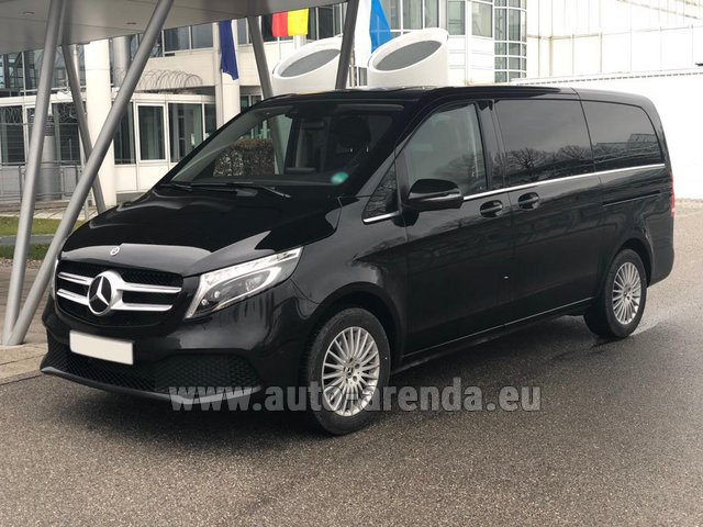 Transfer from Lyon-Saint Exupery Airport to Courchevel by Mercedes VIP V250 4MATIC AMG equipment (1+6 Pax) car