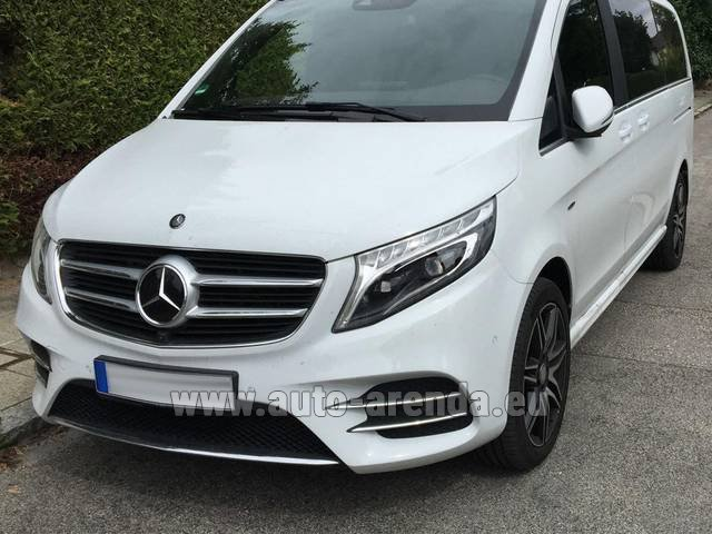 Rental Mercedes-Benz V-Class (Viano) V 250 D 4Matic AMG Equipment in Marseille