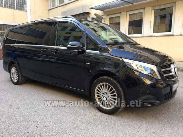 Rental Mercedes-Benz V-Class V 250 Diesel Long (8 seats) in Antibes