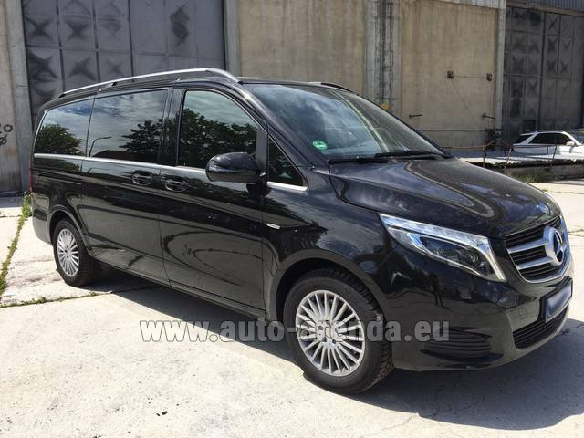 Rental Mercedes-Benz V-Class (Viano) V 250 Long 8 seats in Antibes